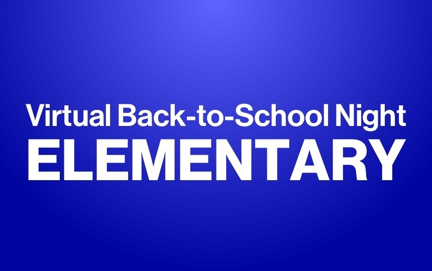 Virtual Back-to-School Night - Elementary