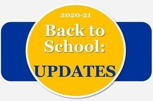 Back to School Update