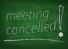 Bond Town Hall Meeting Cancelled