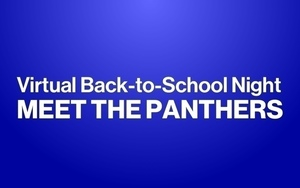 Virtual Back-to-School Night - Meet the Panthers!