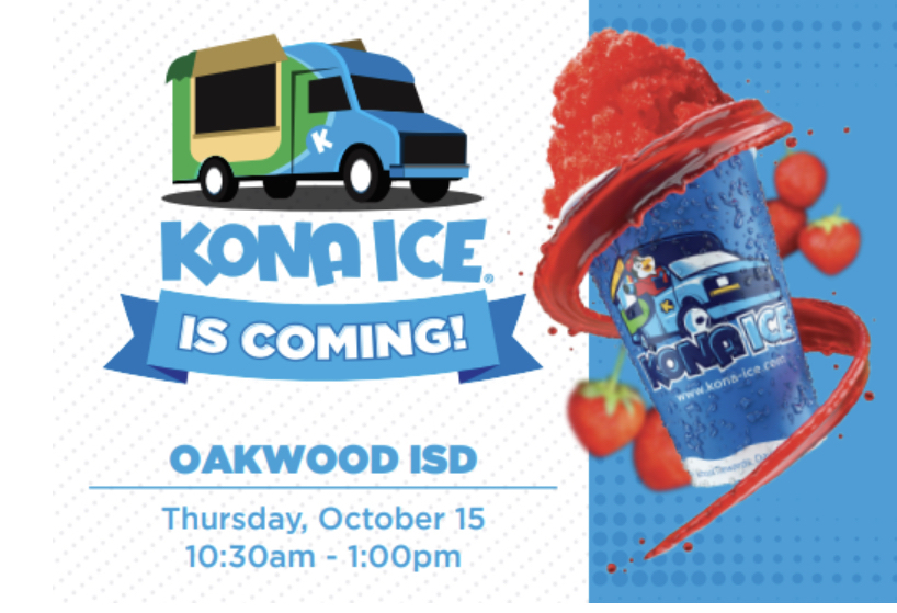 Kona Ice is coming to town!