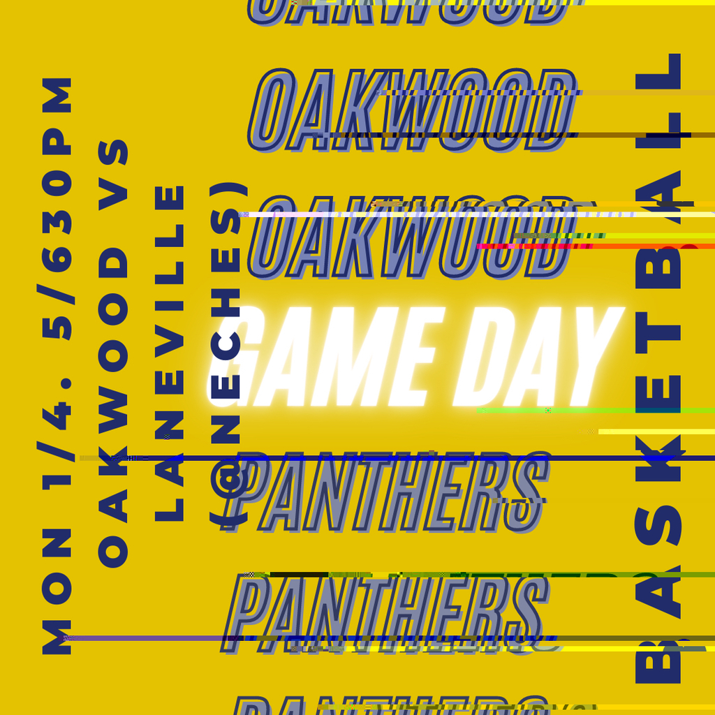 Oakwood vs Laneville 1/4/21