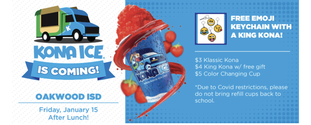 Get you Kona Ice!