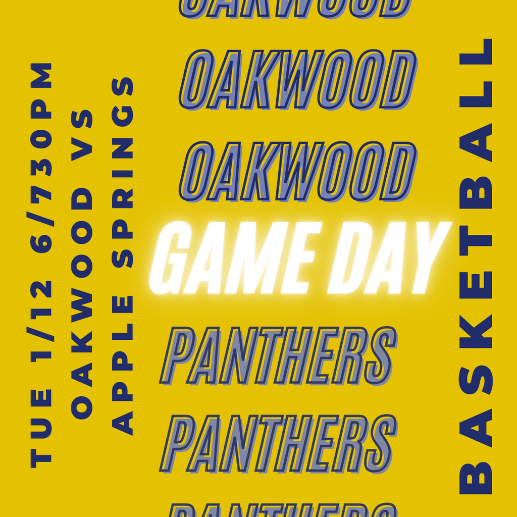 Oakwood vs Apple Springs 1/12/21