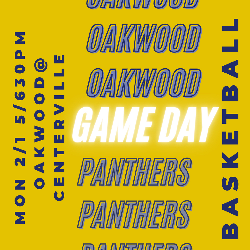 Basketball: Oakwood @ Centerville 2/1/21 girls 6pm, boys 6:30