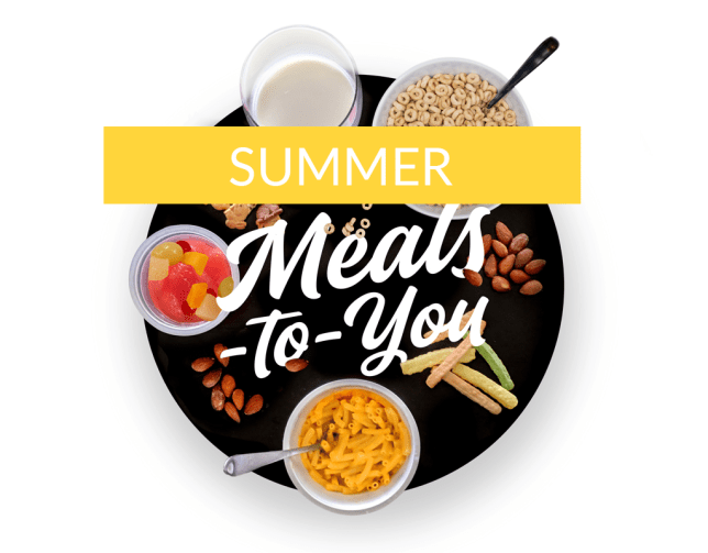 SUMMER MEALS TO YOU