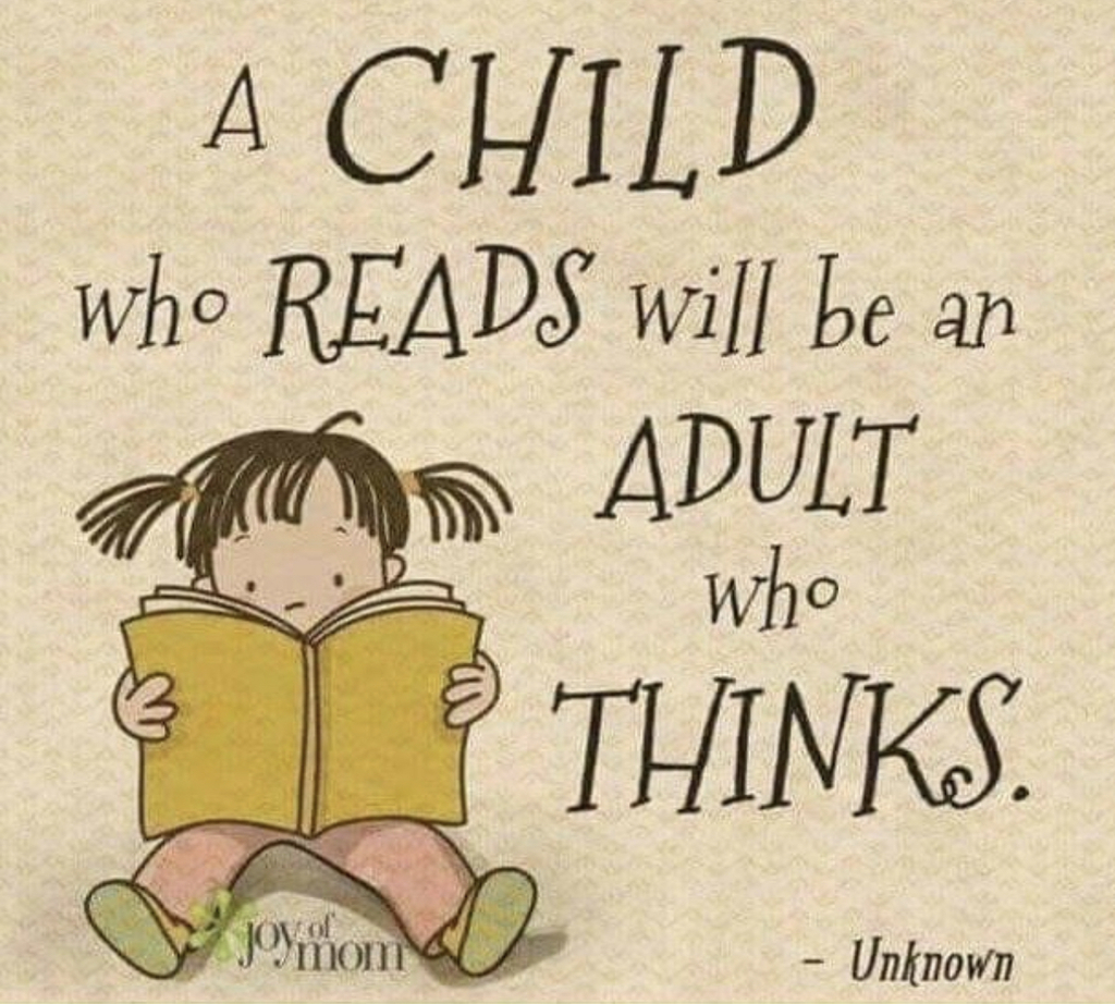Calling all parents to read to and with their children!