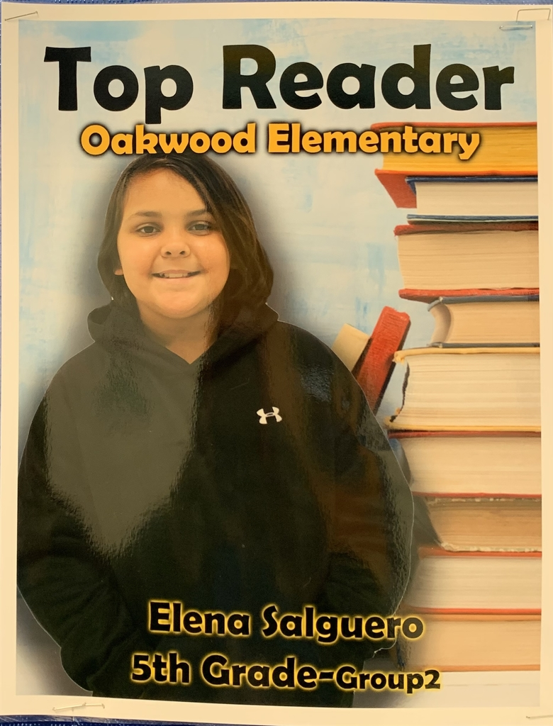 Elena Salguero- Top Reader